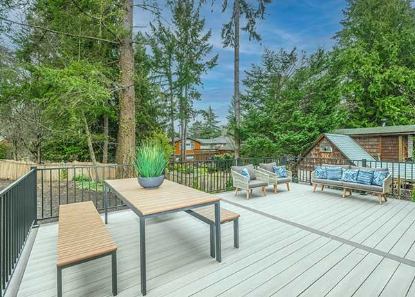Home Decking Services in Port Angeles Washington